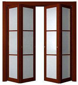 Складные двери «книжка»