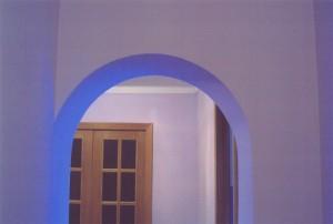 Выравнивание арки вручную
